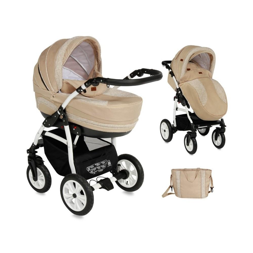 Combi Stroller KARA 2in1 /Air Wheels
