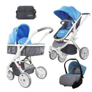 Baby Stroller LUNA Set GREY
