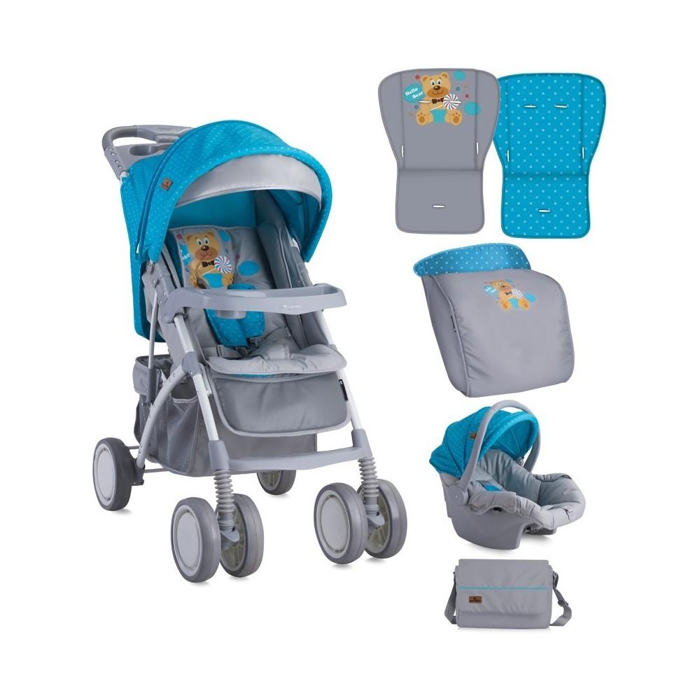 Baby Stroller  RIO SET BLUE &GREY