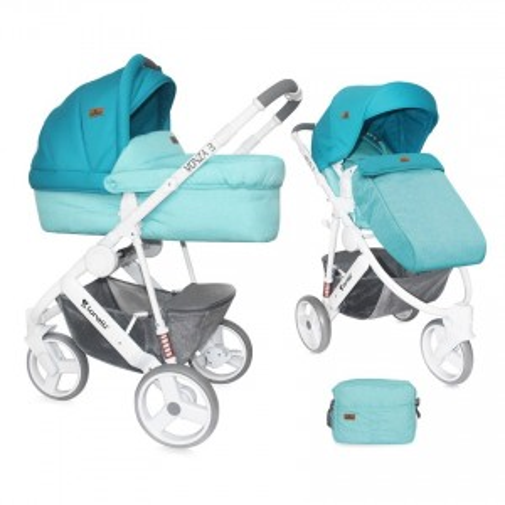 Baby Stroller MONZA 3in1 AQUAMARINE