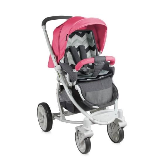 Παιδικό καρότσι S700 2 σε 1 GREY&ROSE 16
