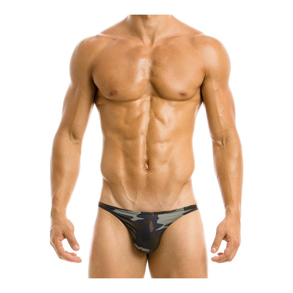 CAMO LOW CUT BRIEF