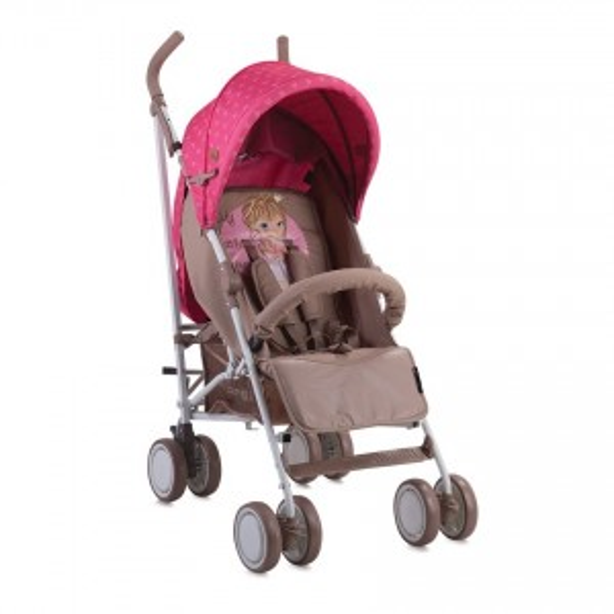 Παιδικό καρότσι  FIESTA  BEIGE&ROSE PRINCESS